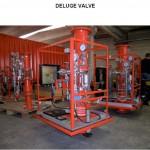 Deluge valve assembly