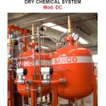 Dry chemical system