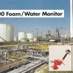 Foam water monitor