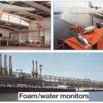 Foam water monitors