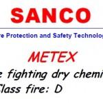 Metex dry chemical