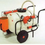 Mobile foam extinguishing system