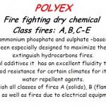 Polyex dry chemical