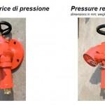 Pressure reducing hydrant valve