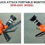 Quick attack portable monitors