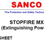 Safety data sheet stopfire MX